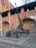Зенитная пушка 52-K стоковые фото