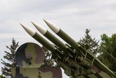 Зенитные ракеты system-1 Стоковая Фотография