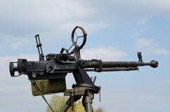 Зенитный пулемет Стоковые Фото
