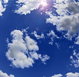 зенит солнца Стоковые Фото