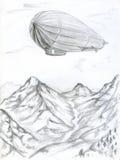 Зеппелин Стоковое Изображение RF