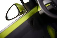 Зеркало автомобиля водителя Стоковые Изображения RF