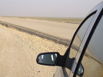 зеркало автомобиля Стоковое фото RF