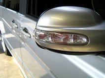 Зеркало автомобиля Стоковые Фотографии RF