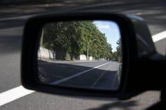 зеркало автомобиля Стоковое Изображение RF