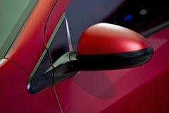 Зеркало водителя автомобиля Стоковая Фотография RF