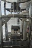 Зеркало входного сигнала интерферометра Virgo Стоковая Фотография RF