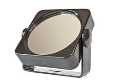 Зеркало в пластичной рамке Стоковые Изображения
