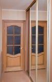 зеркало двери Стоковое Изображение RF