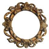 зеркало деревянное Стоковая Фотография RF