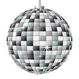 зеркало диско шарика иллюстрация штока