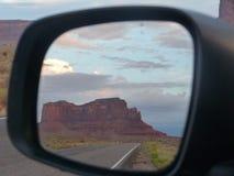 Зеркало долины памятника Стоковая Фотография RF
