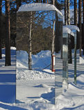 зеркало конструкции Стоковые Изображения