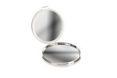 зеркало крома круглое Стоковые Изображения