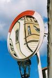 Зеркало на улице Стоковая Фотография