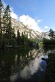 зеркало озера стоковая фотография rf
