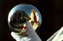 зеркало шарика стоковая фотография