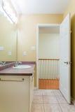 2 зеркала светильника конструкции ванной комнаты ванны 3d люд мозаики голубых творческих пустых нутряных самомоднейших представля Стоковое фото RF