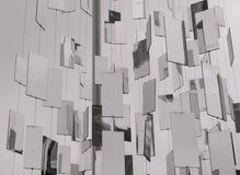 Зеркала смертной казни через повешение в городе Стоковое Изображение