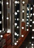 Зеркала с лампами Стоковое Изображение RF