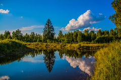 Зеркало воды Стоковое Изображение