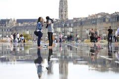 Зеркало воды Стоковое Фото