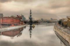 Зеркало в Москве Стоковая Фотография