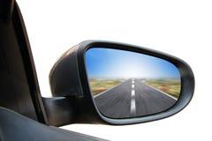 Зеркало заднего вида стоковое изображение