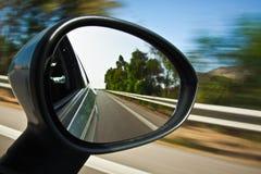 Зеркало заднего вида Стоковые Фотографии RF