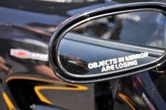 Зеркало заднего вида Стоковая Фотография