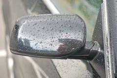 Зеркало крыла автомобиля Стоковые Изображения
