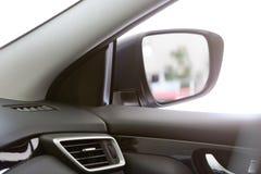Зеркало на автомобиле Стоковые Изображения RF