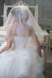 зеркало невесты ближайше Стоковые Фото