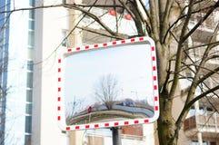 Зеркало улицы стоковое изображение