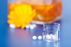 зерна гомеопатические стоковые фото