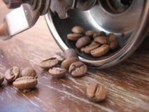 зерна естественного кофе Стоковое Фото