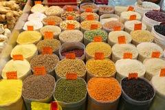 Зерна и фасоли Стоковая Фотография