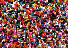 Зерна пластмассы цвета Стоковые Изображения