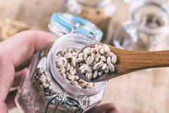 Зерна ячменя жемчуга Стоковое Фото