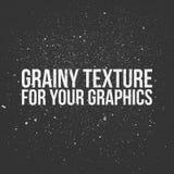 Зернистая текстура для ваших графиков Стоковые Фотографии RF