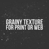 Зернистая текстура для печати или сети Стоковая Фотография