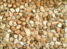 Зернистое облицеванное backround стены Стоковая Фотография