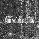Зернистый шаблон текстуры для вашего дизайна Стоковая Фотография