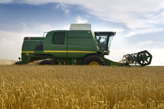 зернокомбайн земледелия Стоковая Фотография