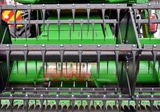 Зернокомбайн земледелия стоковое фото
