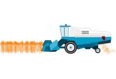 зернокомбайн бесплатная иллюстрация