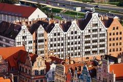 зернохранилища gdansk Стоковая Фотография RF