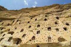 Зернохранилища Karaman/Турция Taskale исторические стоковые изображения rf