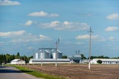 зернохранилище Стоковые Изображения RF