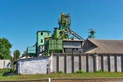 зерно лифта старое Стоковые Фото